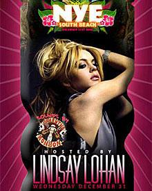 Lindsay Lohan lockt Sylvester auf eine Dschungel-Party