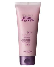 """Die reichhaltige Pflegemaske """"Interaktives Color Mask"""" von Revlon regeneriert die Haarstruktur und schützt die Haarfarbe (200 ml"""