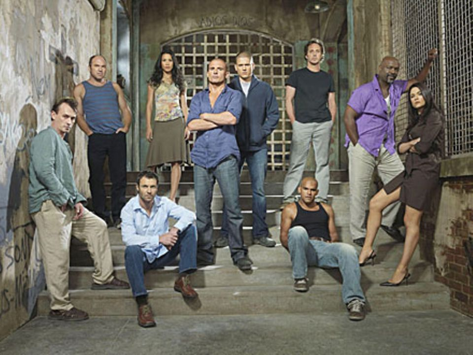"""Das Team von """"Prison Break"""""""