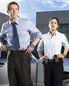 """""""Life"""" heißt die neue Krimiserie auf """"Vox"""": Damian Lewis als Charlie Crews und Sarah Shahi als Dani Rees sind die Hauptpersonen"""