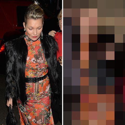 Kate Moss: Rauschendes Fest endet im Vollrausch