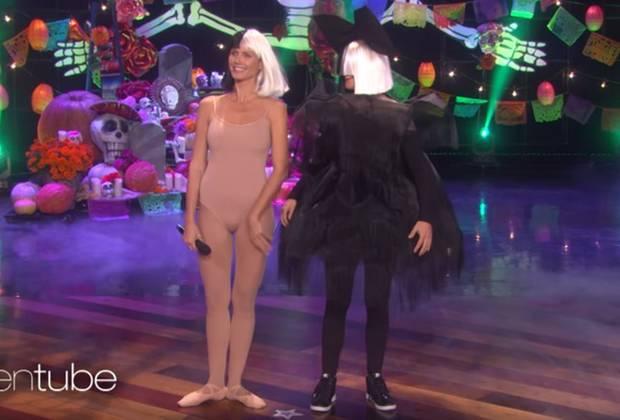 Heidi Klum: Heidi Klum und Ellen DeGeneres treten als Pop-Sängerin SIA auf