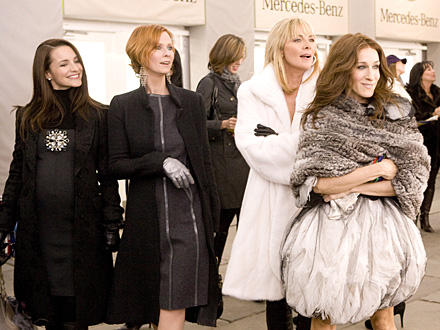 Charlotte York (Kristin Davis), Miranda Hobbes (Cynthia Nixon), Samantha Jones (Kim Cattrall) und Carrie Bradshaw (Sarah Jessica
