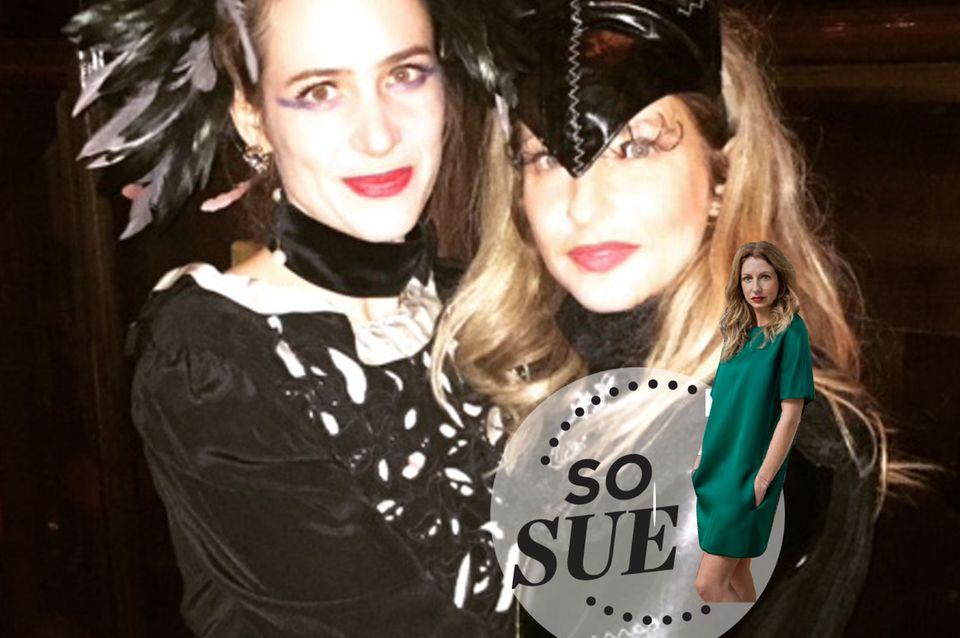 So Sue: Stylisches Halloween-Kätzchen