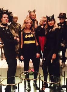 Catwoman, Batman und Co.: Bei Sue feierten die Superhelden Halloween.