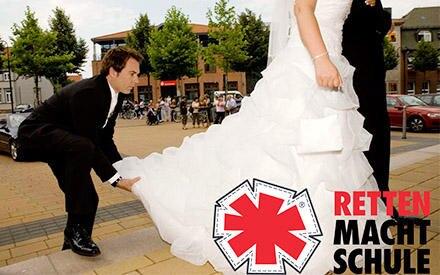 Immer in Action: So kennt und liebt man Frank - den Weddingplaner