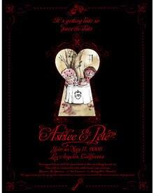 Die Save-the-Date-Karten von Ashlee Simpson und Pete Wentz