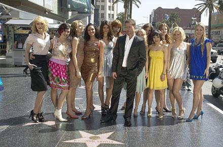 Til Schweiger und seine Mädels in Hollywood