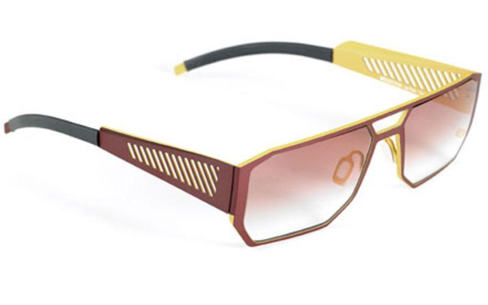 Spacig: En vogue von Kopenhagen bis Kapstadt - futuristische Sonnenbrille von Ørgreen Eyewear, ca. 275 Euro (www.orgreen.dk)