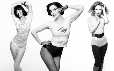 Katy Perry, Dita von Teese und Roisin Murphy präsentieren ihre Designs
