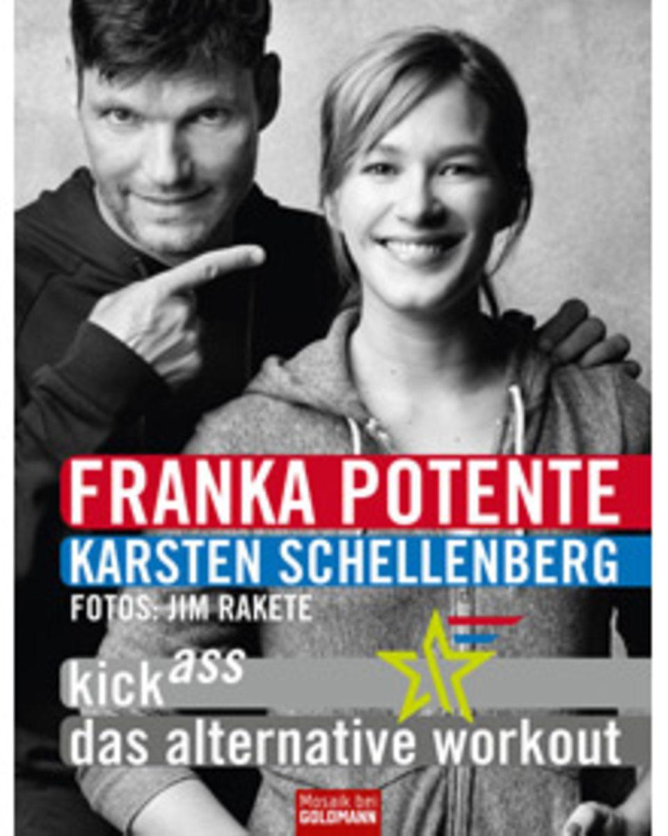 """Karsten Schellenberg und Franka Potente auf dem Cover ihres Fitness-Buchs """"Kick Ass"""""""