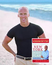 """David Kirsch und seine Fitness-Bibel """"Der ultimative New York Body Plan"""" (www.rivaverlag.de)"""