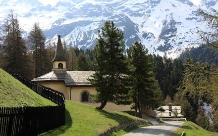 Idyllisch: Die Trauung wird in der Kapelle Regina Pacis stattfinden