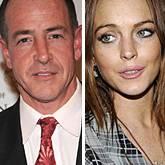 Michael Lohan und Tochter Lindsay Lohan