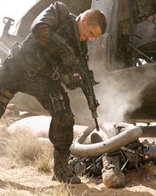 """""""Terminator - Die Erlösung"""" besticht als wuchtige und düstere Action-Apokalypse aus Feuer und Stahl."""