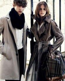 """Emma Watson ist das neue Gesicht für die """"Burberry Hebst Winter Kollektion""""."""