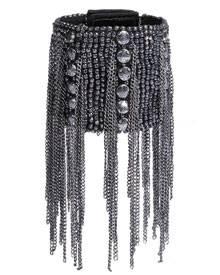 """Im Handumdrehen glänzen - zum Beispiel mit dem """"Oxidised Chain Bracelet Trixy"""" von Fiona Paxton, ca. 189 Euro über stylebop.com"""