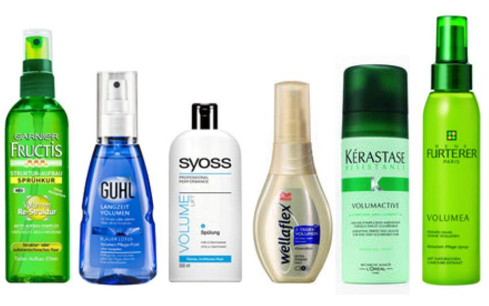Haar in Hülle und Fülle: neue Produkte bringen noch mehr Volumen in feines Haar