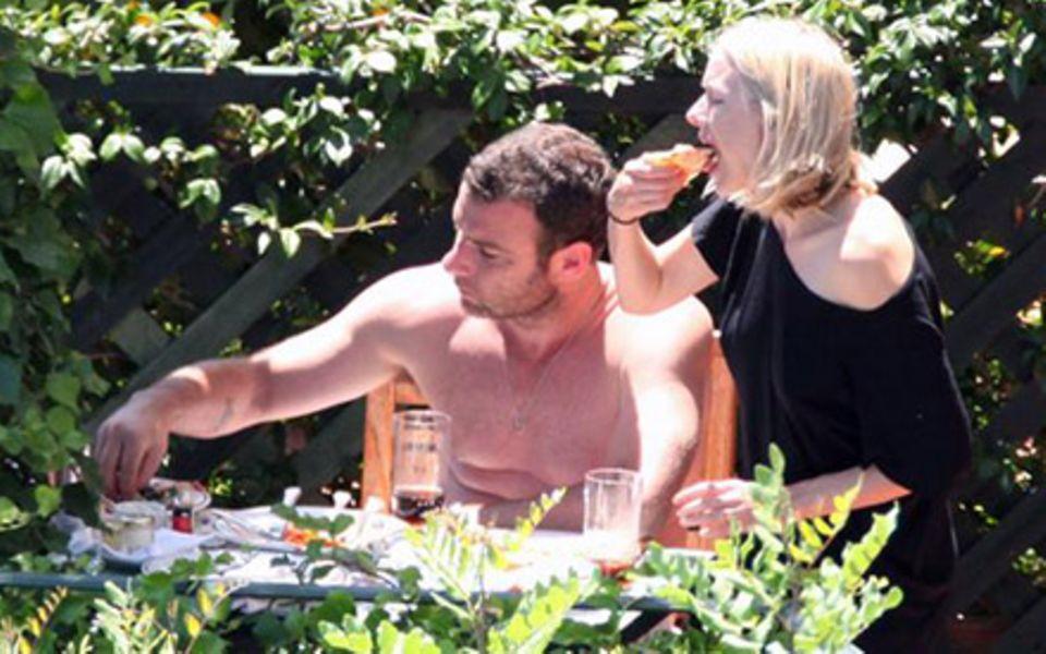 """""""Dolce Vita"""" in Amalfi: Liev Schreiber, Naomi Watts und ihre Kinder genießen das süße Leben in Italien."""