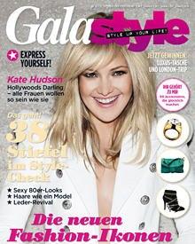 Kate Hudson & more: GALAstyle zeigt auf 164 Seiten Trends aus Fashion und Beauty und den Lifestyle der Stars