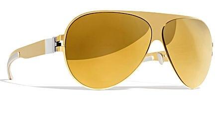Ganz in Gold - so beglückt Modell Franz seine Träger/innen