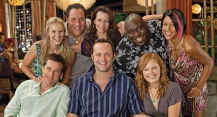 Alle acht zusammen (von unten im Uhrzeigersinn): Dave, Jason, Cynthia, Joey, Lucy, Shane, Trudy und Ronnie.