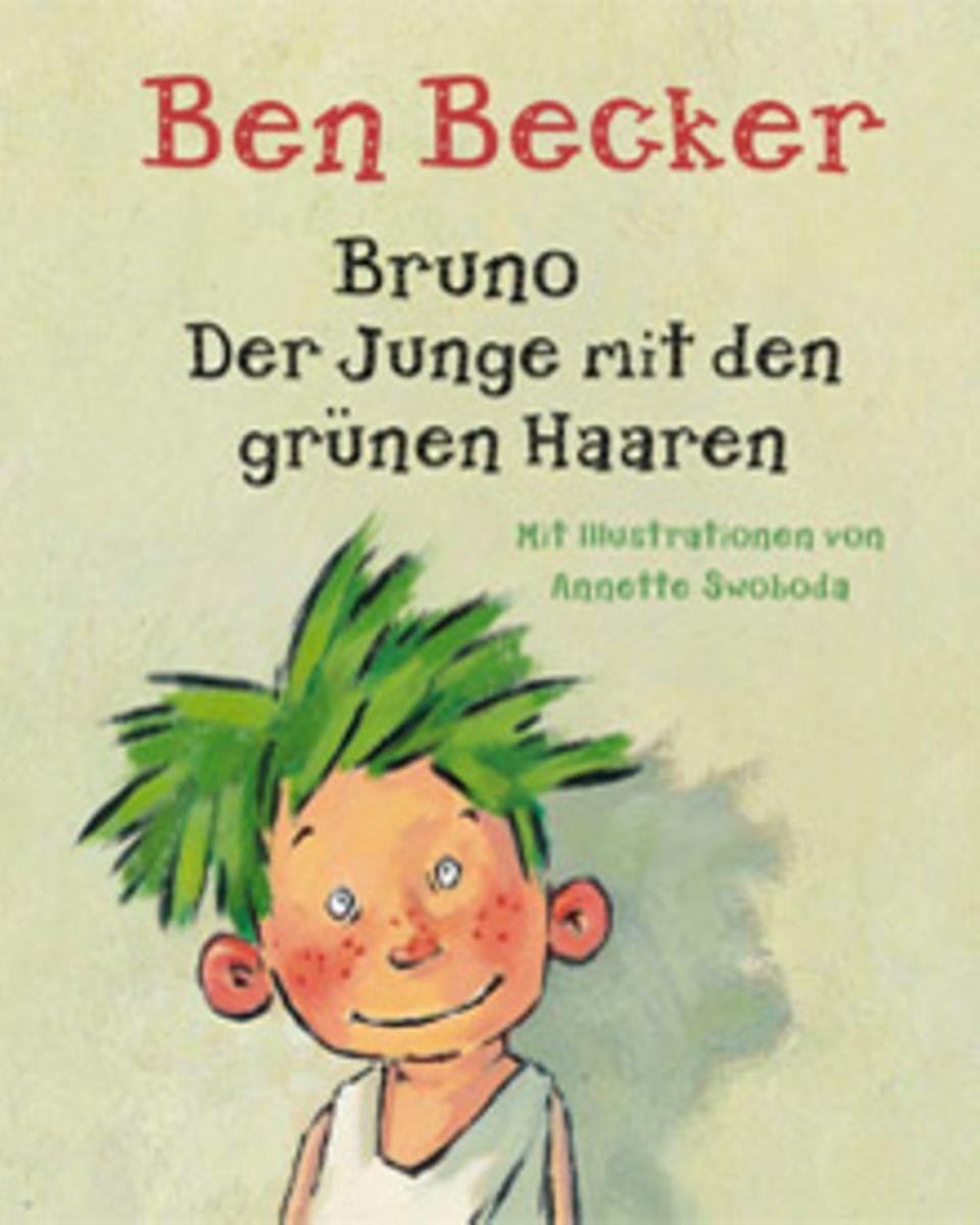 """""""Bruno - der Junge mit den grünen Haaren"""" ist Auftakt einer Reihe, an der Ben Becker weiter schreibt."""