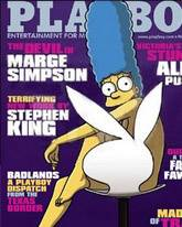 Playboy Marge Simpson