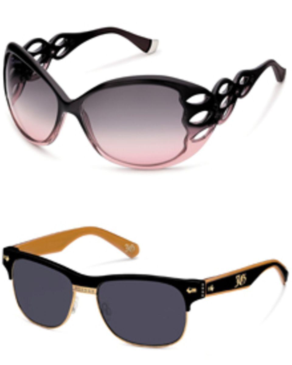 """Glamour plus Hightech: John Gallianos Sonnenbrillen """"Les Biches"""" für die Damen und """"Beau Regard"""" für die Herren"""