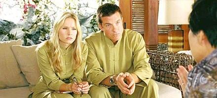Paartherapie im Film: Cynthia (Kristen Bell) und Jason (Jason Bateman) zusammen beim Psycho-Doc.