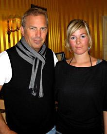 Gala.de-Redakteurin Gesa Schwanke traf Kevin Costner in Berlin.