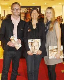 Das Gala-Fashion-Kompetenz-Team: Gala-Fashiondirector Marcus Luft, Claudia Scholtan und Eva Marie Hein