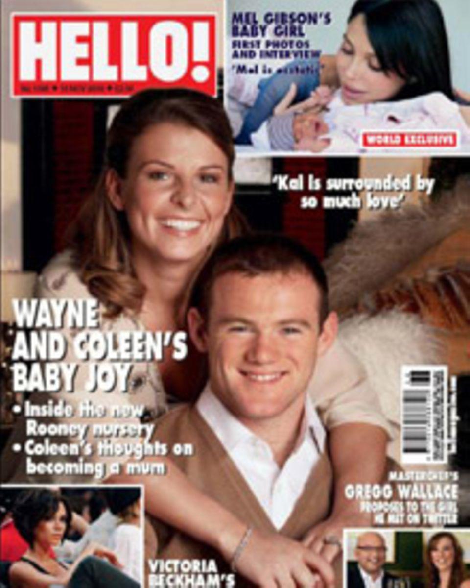 """Das aktuelle Cover vom """"Hello!""""-Magazine."""