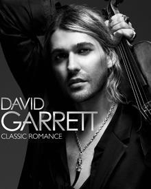 """David Garretts aktuelle CD """"Calssic Romance"""" ist seit dem 6. November im Handel erhältlich."""
