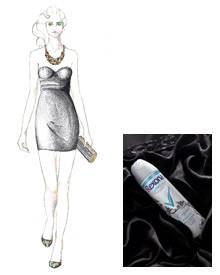 So oder so ähnlich könnte ihr Traumkleid von Kavier Gauche aussehen - dank der Kooperation mit Rexona Women Crystal