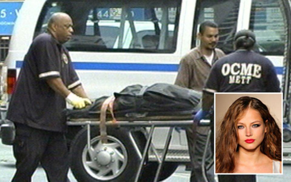Ruslana Korshunova, 20, sprang im Juni 2008 aus dem 8. Stock ihres Wohnhauses in Manhattan.