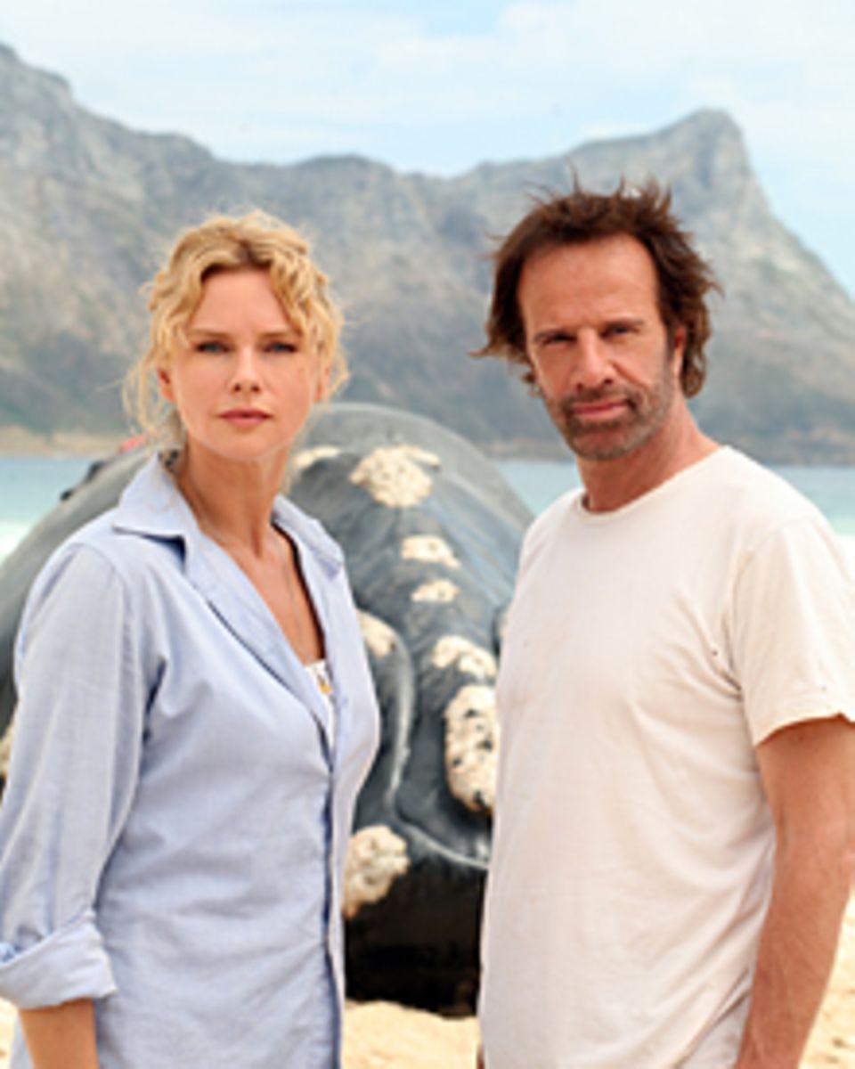 """Veronica Ferres und Christopher Lambert spielen die Hauptrollen des Event-Zweiteilers """"Geheimnis der Wale""""."""