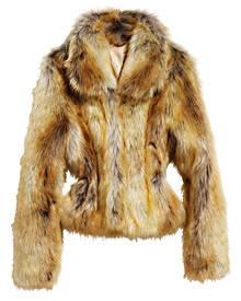 Wer Bedenken gegenüber echtem Pelz hat, kann zur Webpelz-Variante greifen. Dieses Modell von H&M gibt's für 99 Euro.