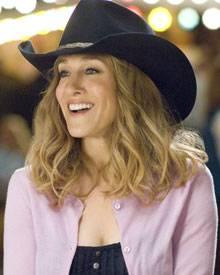 Meryl Morgan wandelt sich von der Manhattan-Lady zum Cowgirl.
