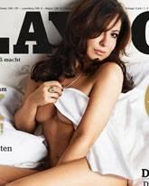 Simone Thomalla Heißes Playboy Shooting Galade