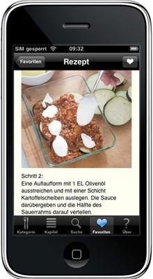 So sieht ein Kochbuch 2010 aus: Patrik Janos bringt die junge Küche auf das iPhone.