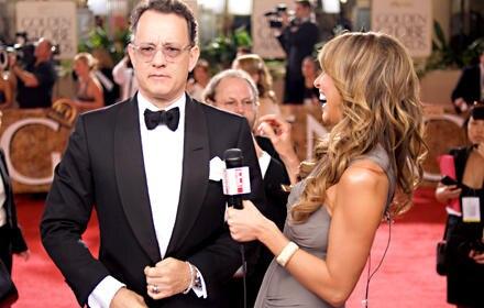 Mit Tom Hanks verstand sich Giuliana Rancic im vergangenen Jahr bei den Golden Globes besonders gut.