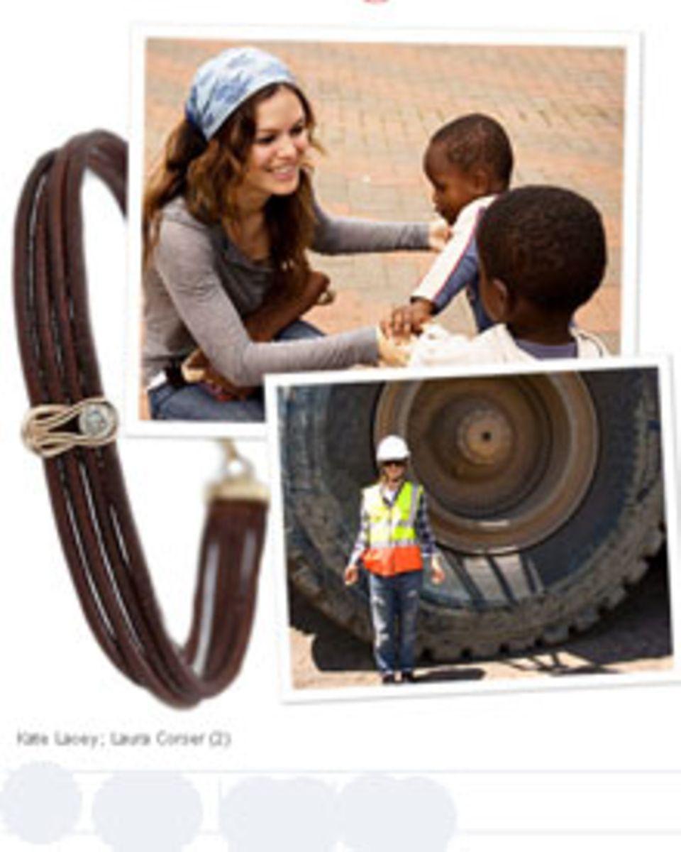 Charity-Girl: Rachel Bilson unterstützt mit selbstdesigntem Schmuck Afrika.