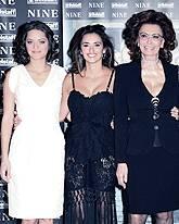 Marion Cotillard, Penélope Cruz, Sophia Loren
