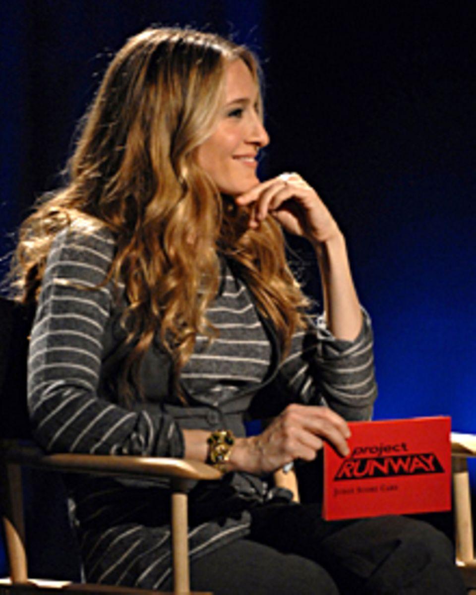 "Sarah Jessica Parker schaut bei ""Project Runway"" als Gastjurorin vorbei."