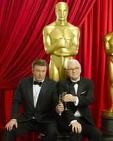 Alec Baldwin, Steve Martin, Oscar Co-hosts