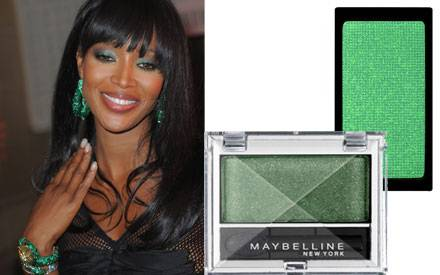 Strahlend schön in sattem Grün: Mit diesen Lidschatten gelingt der glamouröse Augenaufschlag von Naomi: Eyestudio Mono von Maybe