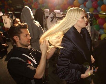 Fülle und Länge für die Frisuren der weiblichen Models der Michalsky-Show