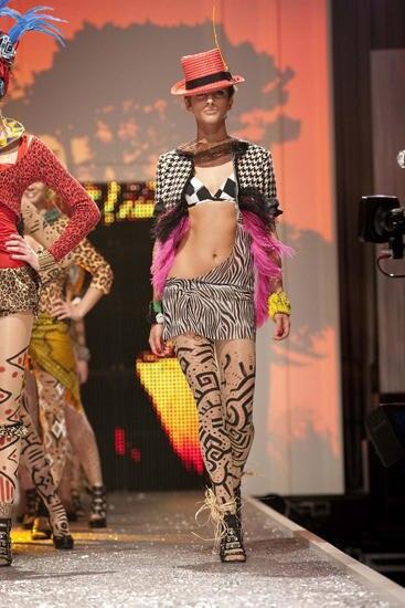 """Auch mit diesem Outfit konnte """"Austria's Next Topmodel"""" Aylin Kösetürk bei der Jury punkten."""