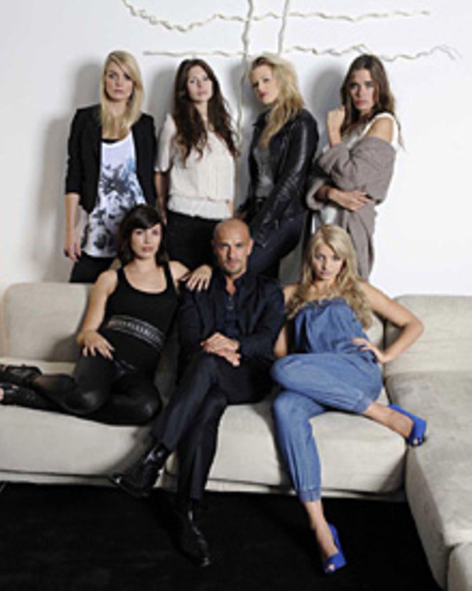 Darum geht's: In einem luxuriösen Kölner Loft leben sechs Nachwuchs-Models zusammen. Unter der Ägide von Peyman Amin will jede d